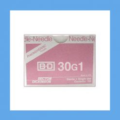 "BD Disposable Needles 30g x 1"" needles, disposable, stainless steel, BD"