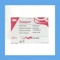 "Transpore Surgical Tape 1"" surgical tape, hypoallergenic, latex-free, plastic tape"