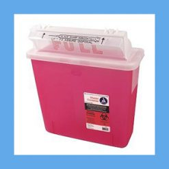 Dynarex Sharps Container, 5 Qt. instrument disposal, sharps, covidien