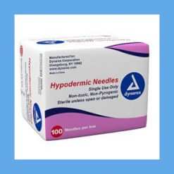 "DYNAREX Hypodermic Needles 18G x 1"" needles, disposable, stainless steel, Dynarex"