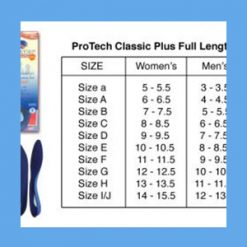 Powerstep ProTech Classic Plus Full Length Orthotics orthotics, cushion, flexibility, footwear, Powerstep