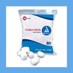 Dynarex Cotton Balls, Medium 2000/bag Non-Sterile Dynarex Cotton Balls, Medium 2000/bag Non-Sterile