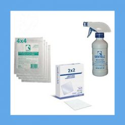 Collagen 2x2 Wound Care Kit wound care, kit