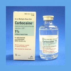 Carbocaine 1% Plain Preservative Free 30ml. carbocaine, local anesthetic, 1 % sterile solution, brand of mepivacaine