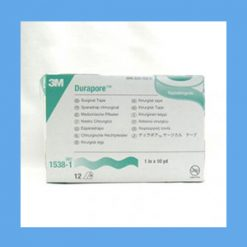 "3M Durapore Surgical Tape 1"" surgical tape, silk-like, latex-free, high-strength"