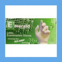 Emerald Latex Exam Gloves, Powder Free, Non-Sterile Emerald Latex Exam Gloves, Powder Free, Non-Sterile