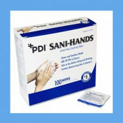 PDI Sani-Hands Instant Hand Sanitizing Wipes 100 wipes PDI Sani-Hands Instant Hand Sanitizing Wipes 100 wipes