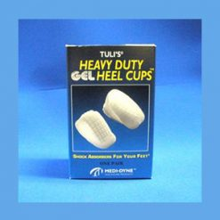 Tuli's Heavy Duty Gel Heel Cups, Regular (up to 175 lbs.) heel cups, gel, heavy duty, Tuli's
