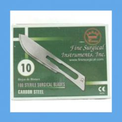 Carbon Steel Sterile Surgical Blades #10 blades, sterile, surgical, carbon steel, quality, value