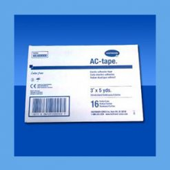 AC-Tape Bulk Pack, 3x5 yds-16 rolls/case elastic adhesive tape, all-cotton, latex free, AC-Tape