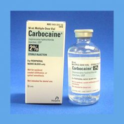 Carbocaine 2% Plain 50ml carbocaine, anesthetic, sterile, solution