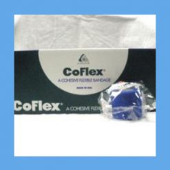 "CoFlex Bandage Assorted Color Pack 2"" Latex free OVERSTOCK latex free bandage, cohesive, light compression wrap"