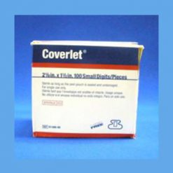 "Coverlet Adhesive Bandages, Small Digits 2 1/8"" x 1 1/2"" adhesive bandage, Coverlet, latex free"