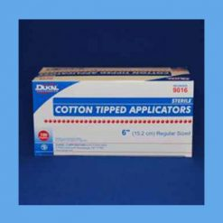 """Dukal Cotton Tipped Applicators, Sterile 6"""" OVERSTOCK"""