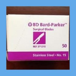 Bard-Parker Stainless Steel Sterile Surgical Blades #15 surgical blades, Bard-Parker, rib-back