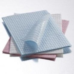 "Foot Print Towels 3 ply Graham Medical Polyback 13.5"" x 18"" BLUE Foot Print Towels 3ply Graham Medical"